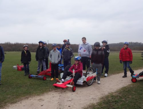 Scouts Go-Karting