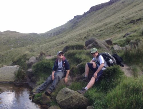 Walk up Kinder Scout